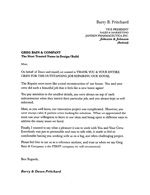 Referral Letter Barry and Dawn