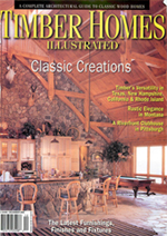 Lakeside Montana Timber Home Builder Feature Article