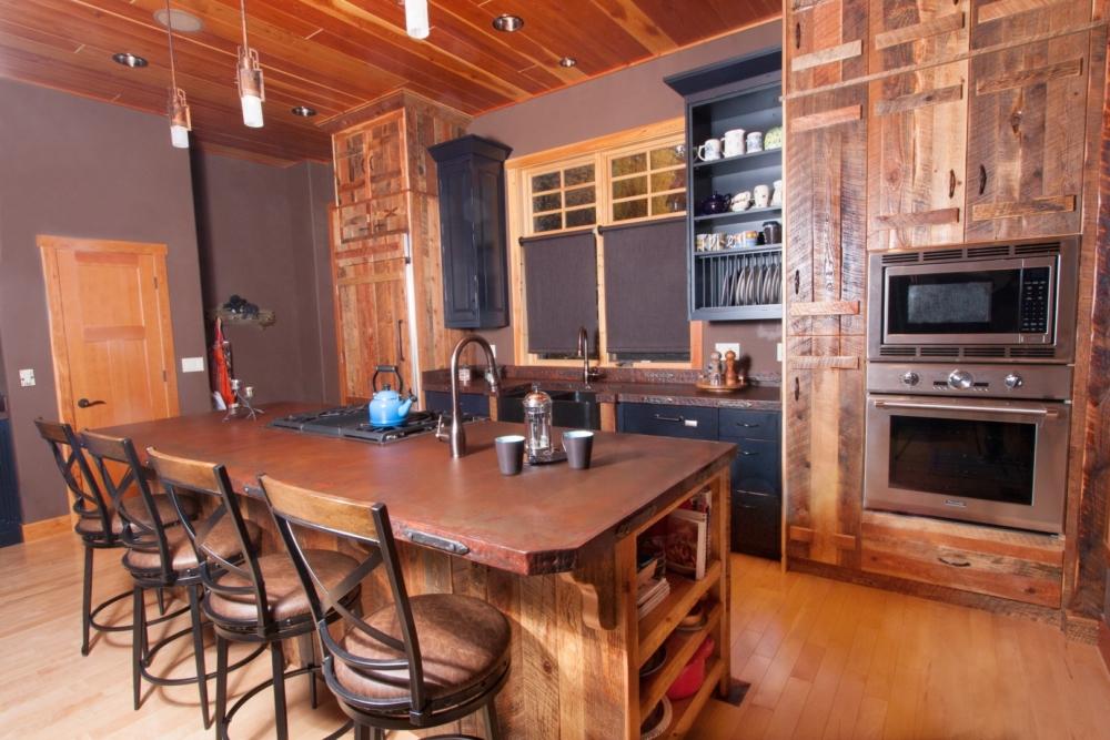 Mountain Modern Kitchen island