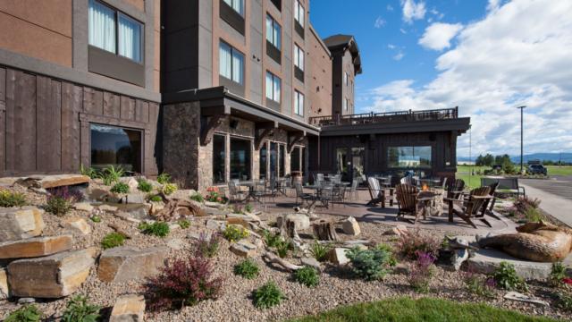 montana builder greg bain landscape patio
