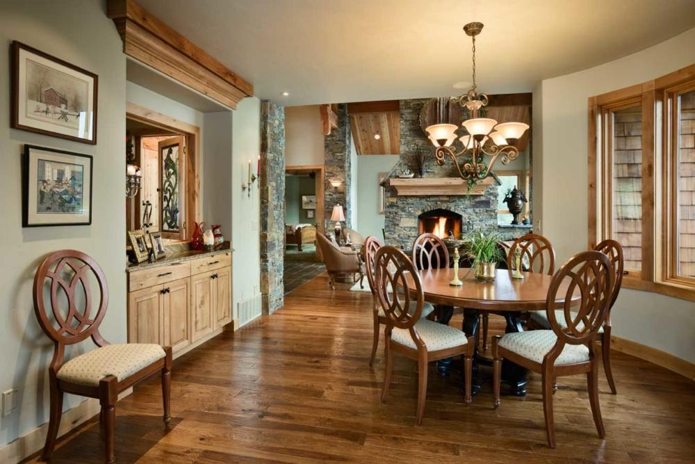 montana splendor dining room