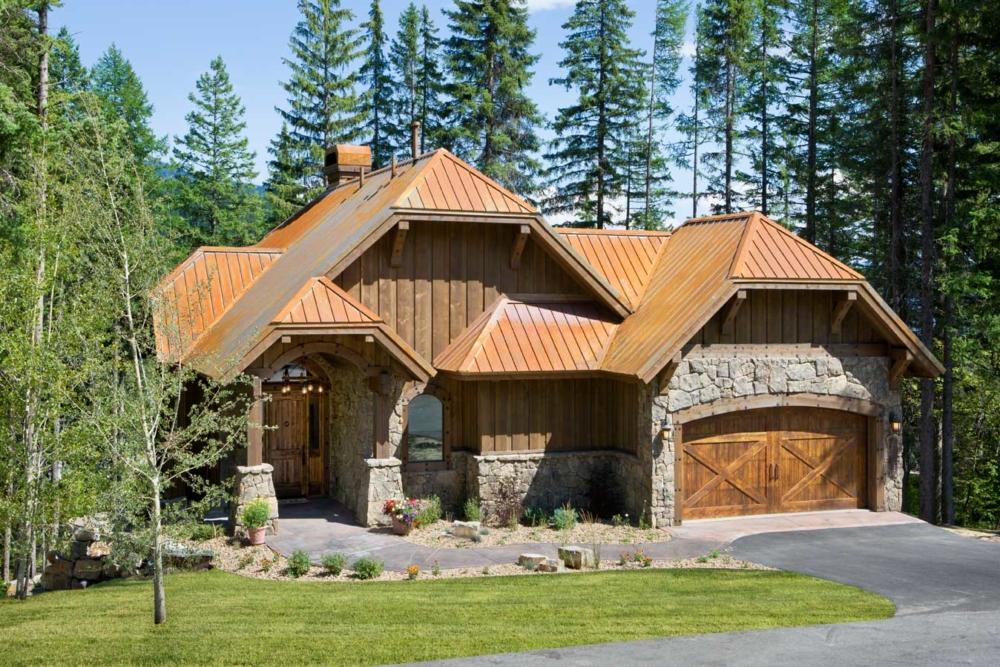 rustic elegance custom home whitefish montana
