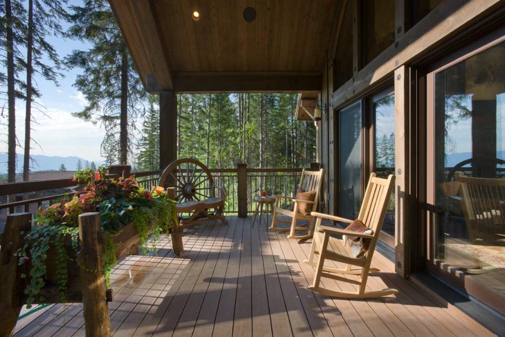 rustic elegance deck