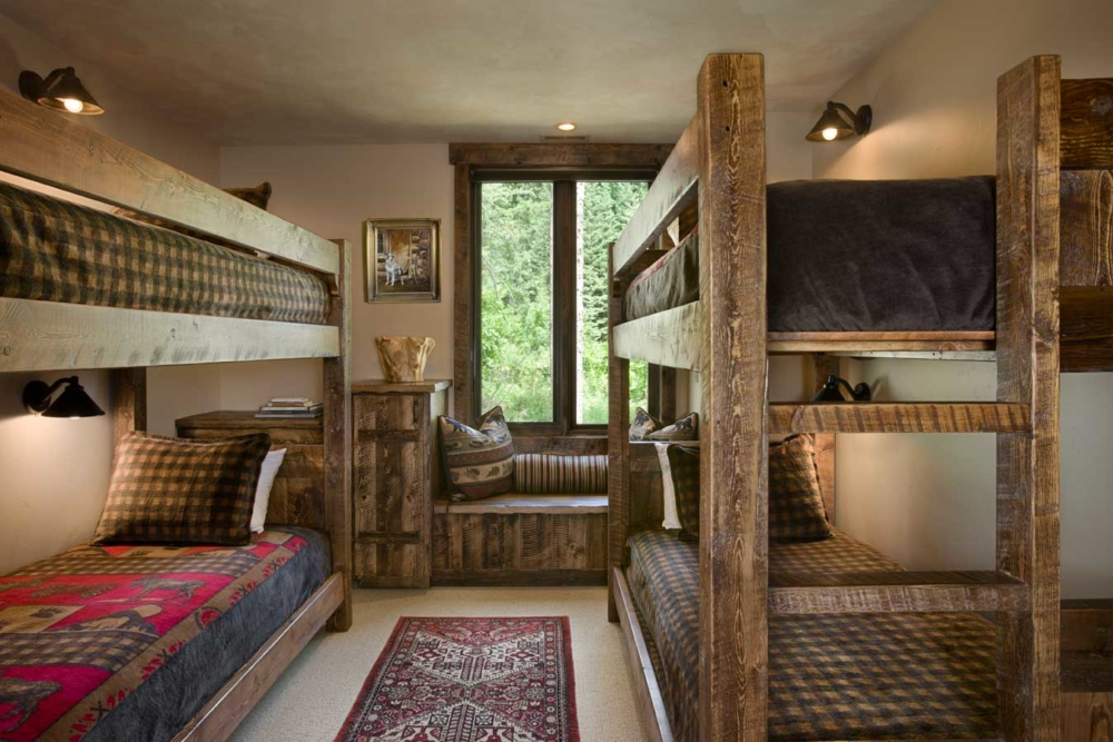 rustic elegance guest bunks