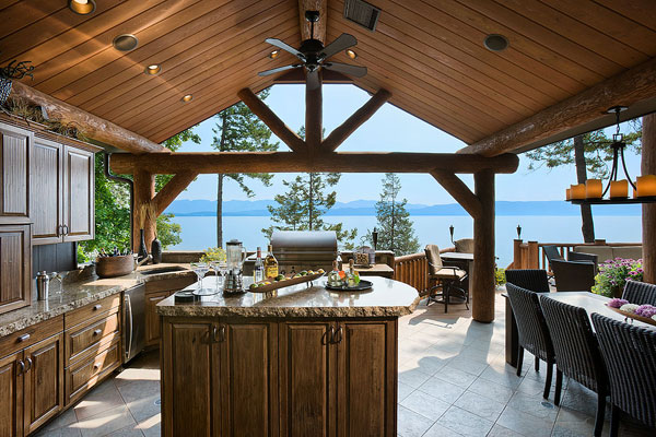 Lakeside Montana Builders Custom Home