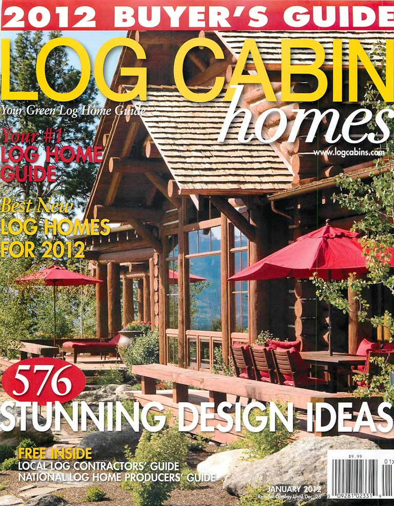 Exceptionnel Lakeside Builders Log Cabin Home Featured In Log Cabin Homes Magazine  Article
