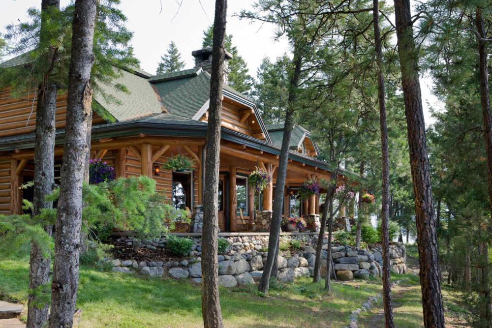 eagles cove custom home lakeside montana
