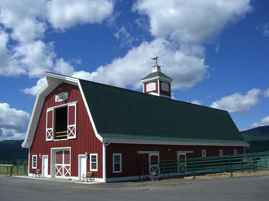 montana dream ranch barn