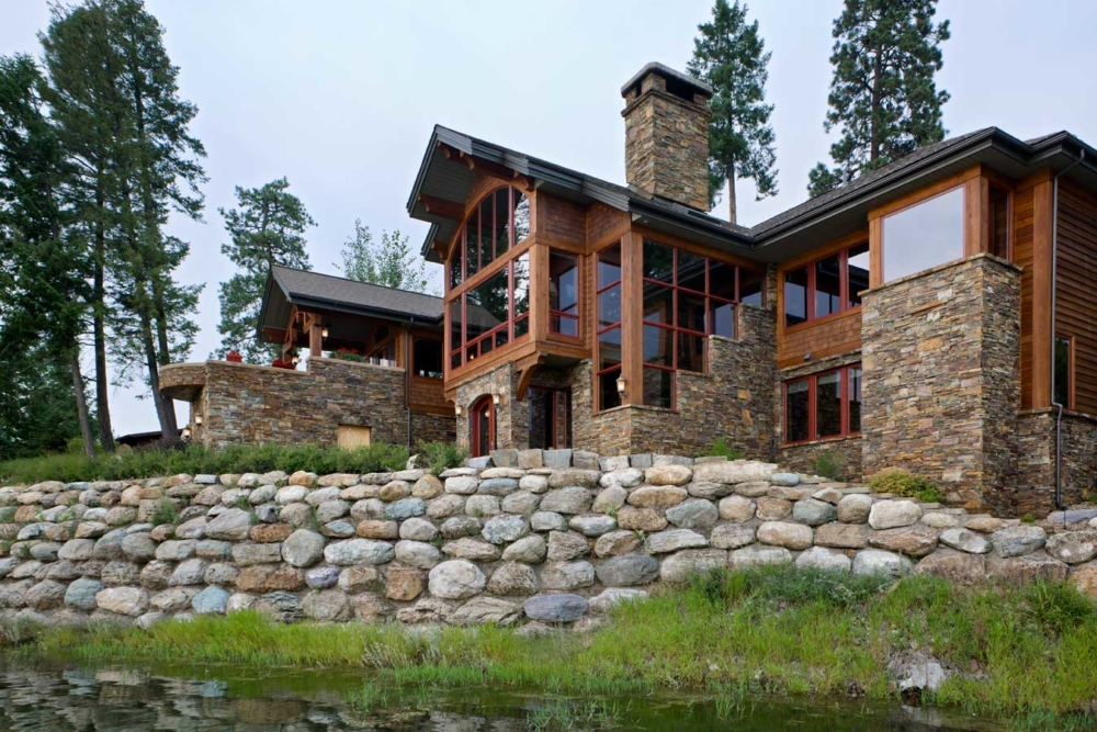 montana splendor custom home bigfork montana